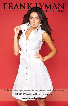 A gorgeous dress from Frank Lyman Design Spring 2012 Collection. Visit: http://www.franklyman.com