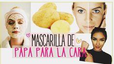 """Mascarilla De Papa Para La Cara """"Quitar Manchas del Rostro"""""""