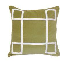 Apple Velvet Regency Pillow