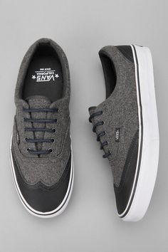 Vans Leather and Wool Wingtips -- $75.00