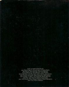 L'Année du Rugby - 1974 - Verso