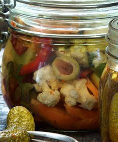Léto budiž naloženo, Foto: L.A. CREATIVE FOOD Creative Food, Pickles, Cucumber, Pickle, Zucchini, Pickling