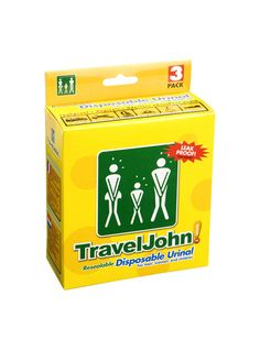 Travel John, Unisex Disposable Urinalthis fantastic products from mother and baby care to men and women toiletries and better natural greening cleaning products and pet care are available here at link http://www.wikaniko.com/florenceowen and http://florenceowen.wikaniko.com/ ) or click on product pic for more info on this product also a range of seeds and trees so if your interested in growing your own fruit and veg or trees