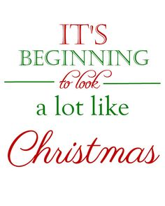 It's Beginning to Look a Lot Like Christmas by ProperlyAddressed, $5.00