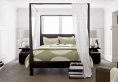 tapered Canopy Bed