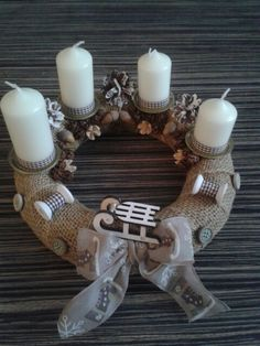 Adventi koszorúm  advent wreath
