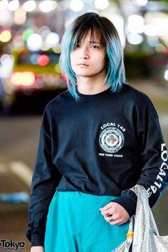 5b12f2fdecc3c5 Harajuku Menswear Street Styles w  Richardson Sweatshirt