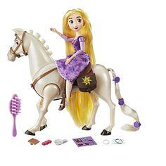 Disney Tangled the Series Rapunzel and Royal Horse Maximus, Blue Disney Rapunzel, Princess Rapunzel, Princess Zelda, Disney Dolls, Disney Princesses, Tangled Doll, Disney Horses, Disney Ships, Barbie