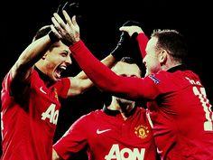 Chicharito + Rooney