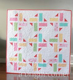 Division Quilt – baby size!