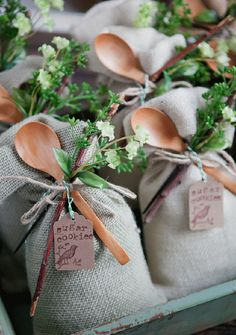 """Almost a year ago we posted """"21 Awesome Wedding Favors That Are Not Jam!"""" so we decided to follow that up with 21 more unique, cool, handmade, custom and once again tasty wedding favors to consider. About a third of these are from real weddings and the rest were found on etsy. Take a look and …"""