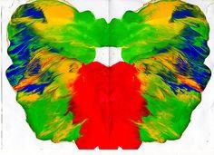 Rorschach Ink Blot Test 061 by Robert James Maclese (2009)