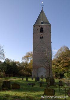 Former church tower and old graveyard of Oud Leusden