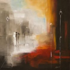 Marek Langowski | Polish Impressionist Landscapes painter | The dance of light in Venice