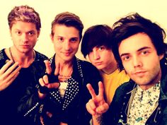 (Left to right) Nash Overstreet, Ryan K. Follese, Jamie Follese (x_x <3), Ian Keaggy