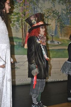 Prize-Winning Mad Hatter Costume for a Boy