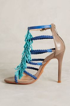 Schutz Carmen Heels #anthrofave #anthropologie.com