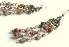 Miss Bohemian Long Chandelier Earrings by LunaEssence on Etsy, $18.99