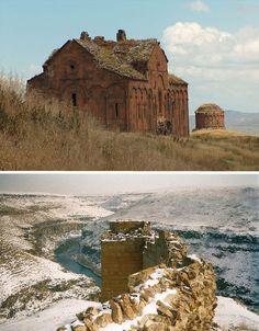 Abandoned Medieval City of Ani, Turkey