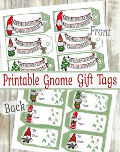 strung 20 Brown Vintage Style Christmas Gift Tags//Labels Do not open til 25th