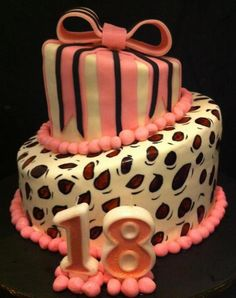 18th Birthday Cake By Wheres The Justine Blanco Brisbane Queensland