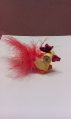 Quilled chicken