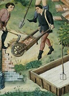 Jean Wauquelin, Historia de Alejandro(de Macedoinia) Construction de Bucéfalia  Flandes, s.XV.