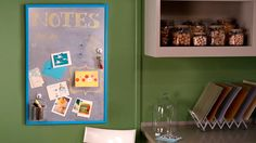 Magnetic Chalkboard Bulletin Board Videos | Methods, Techniques, and Activities How to's and ideas | Martha Stewart