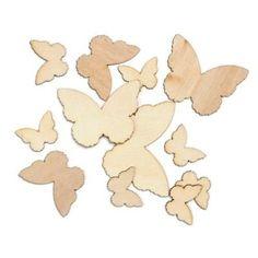 Wood Veneer Butterflies