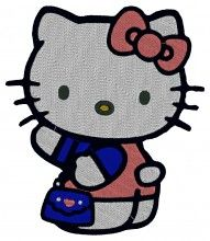 Shopping Kitty Embroidery Design brother pe 150 bernina embroidery machine cards
