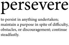 My favorite word. if i got a tattoo; this word would be it