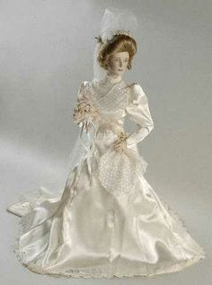 Franklin Mint Gibson Girl ~ My first grown up doll that was a gift from my Mom the year I got married :)