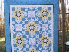 Verses quilt made for a dear friend