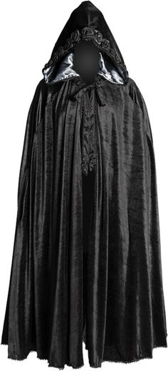 Gothic women's cape black-silver by Sinister