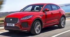 The 2018 Jaguar E-Pace is engineered to be a sportier kind of crossover, due to stiff suspension bushings, stable subframe mounts and anti-roll bars Anti Roll Bar, Jaguar E, Release Date, Automobile, Sporty, Crossover, Game, Colors, Awesome