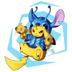 Pikachu and Stitch crossover! Just awesome! Friends Wallpaper, Mood Wallpaper, Wallpaper Iphone Cute, Disney Wallpaper, Disney Drawings, Cute Drawings, Stitch And Pikachu, Toothless Wallpaper, Hearly Quinn