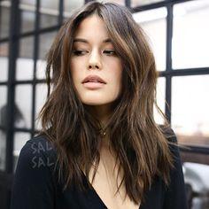 Sexy Messy Hair Muse @yoizzyy Color @mizzchoi Cut/Style @salsalhair #salsalhair #mizzchoi #sexymessyhair #sexyhair #modernhair #haircut #hair