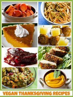31 Vegan Thanksgiving Recipes for your holiday! So got to try some of these recipes.
