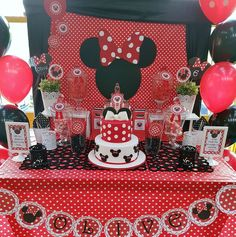 Minnie Mouse Birthday Party Ideas | Photo 9 of 17