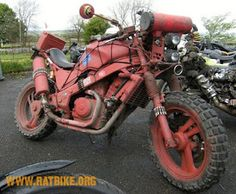 Survival Bike for getting where you need to go fast.