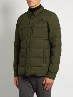 The North Face Red Label Hoodoo point-collar down coat