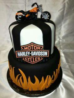 45 Best Harley Davidson Images Motorcycle Cake Harley