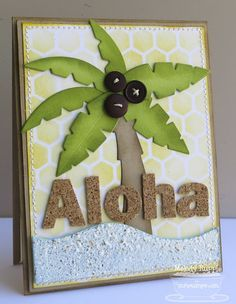 Add Texture and Dimension to Your Cards with Cork.... card by Melody Rupple