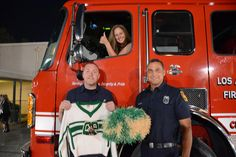 Station 105 keeping the evening safe at the 100th Anniversary of Canoga ParK High School.