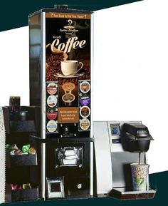 KEURIG brewing machine features K-cup vending machine features - Bottom rubber grippers help keep caddy in place. - All-in-one compact unit holds many coffee accessories. Coffee K Cups, Hot Coffee, Coffee Drinks, Coffee Maker, Tea Vending Machine, Coffee Vending Machines, Food Business Ideas, Coffee Accessories, Keurig