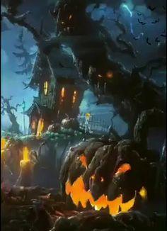 Happy Halloween Gif, Snoopy Halloween, Halloween Cartoons, Halloween Drawings, Halloween Pictures, Halloween Season, Scary Halloween, Vintage Halloween, Halloween Backgrounds
