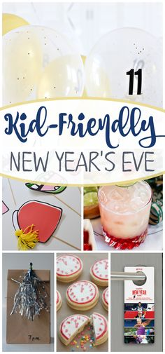 Find everything you need to throw a kid-friendly New Year's Eve party! Food, activities, and drinks! #StreamTeam AD
