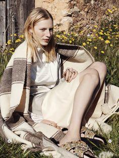 Julia Nobis for Russh ~~ stylegingerly.com