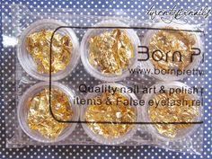 DIY Gold flake polish, bornprettystore, gold flake polish, DIY, Crafts, Nail polish, nail art design, twentysixnails