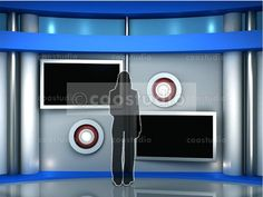 virtual set volume 4 Virtual Studio, Tv Decor, Action, Crafts, Group Action